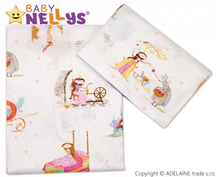 Bavlněné povlečení Baby Nellys ®- Princezna