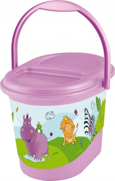 Kbelík na plenky Hippo - fialový