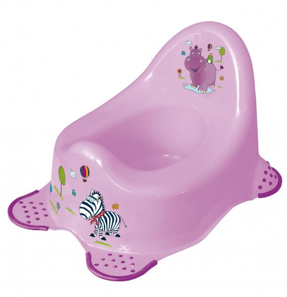 Nočník Hippo s protiskluzem - fialový