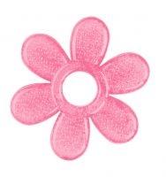 BabyOno Kousátko gelové Baby Ono Kytička - růžové
