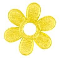 BabyOno Kousátko gelové Baby Ono Kytička - žluté