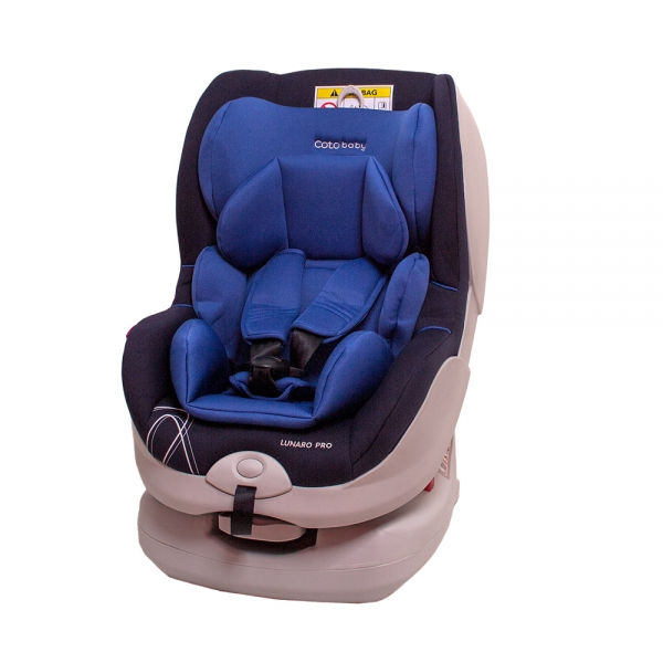 Autosedačka LUNARO PRO Isofix - 0-18 kg - barva modrá
