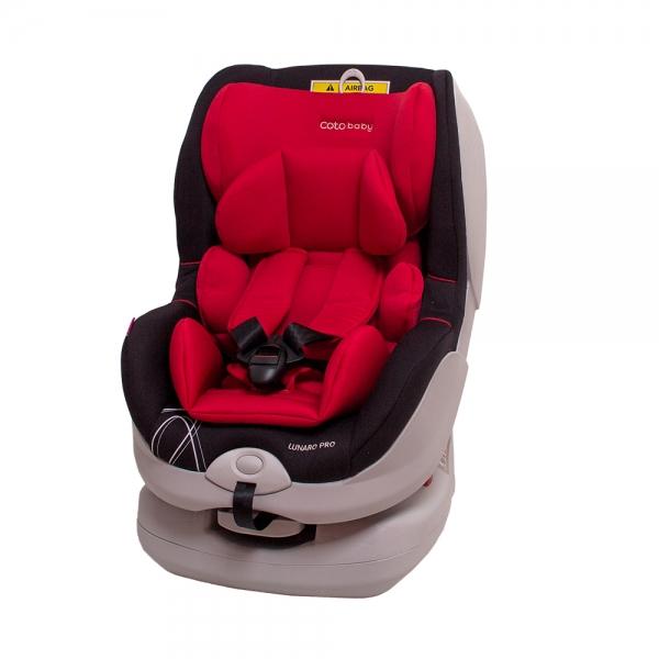 Autosedačka LUNARO PRO Isofix - 0-18 kg - barva červená (Barva: červená 02 , 0 -18 kg. Kolekce 2017)