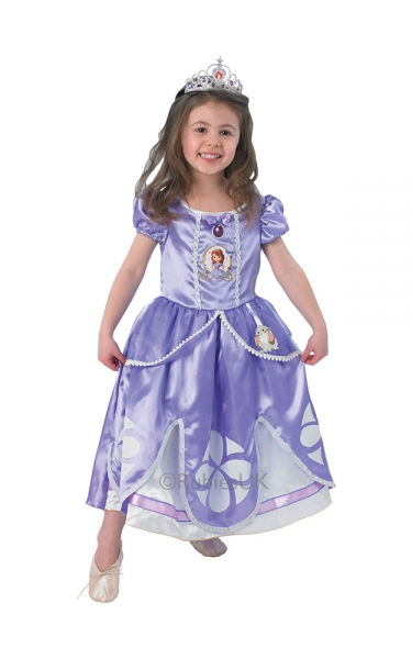Karnevalový kostým Disney Sofie První Deluxe, vel. XS