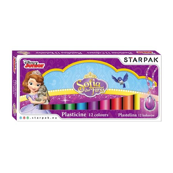 Plastelína Sofie První, 12 barev