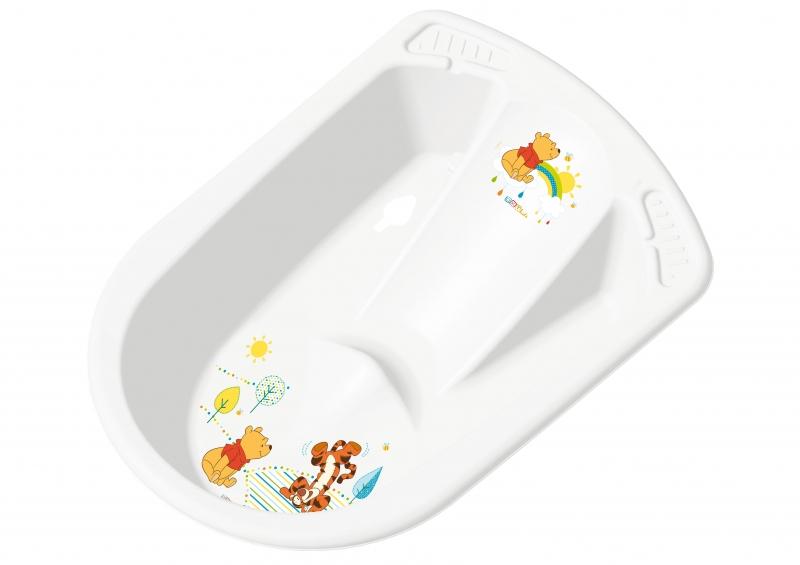 Dětská anatomická vanička s výpustem - Medvídek PÚ