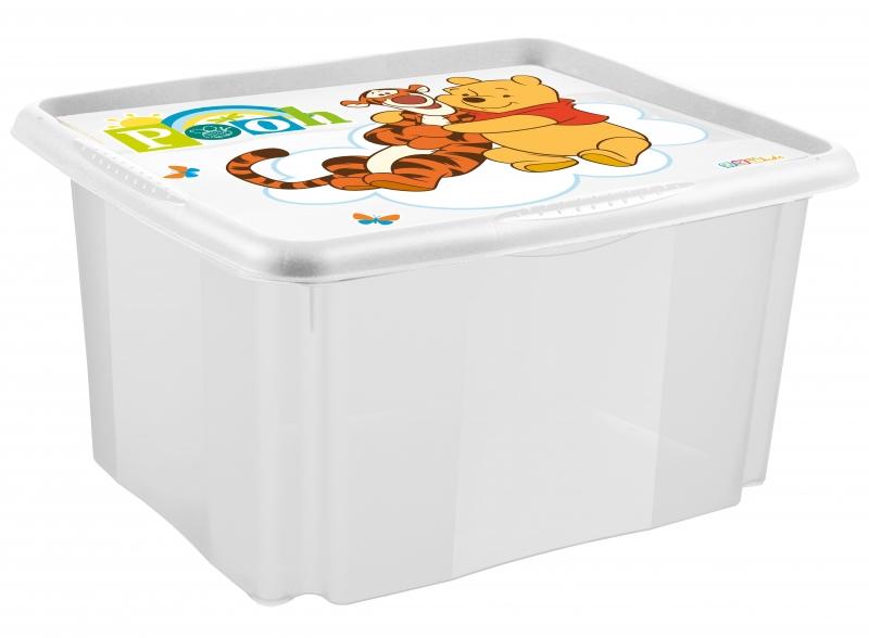 Keeeper Box na hračky Medvídek PÚ - 24 l