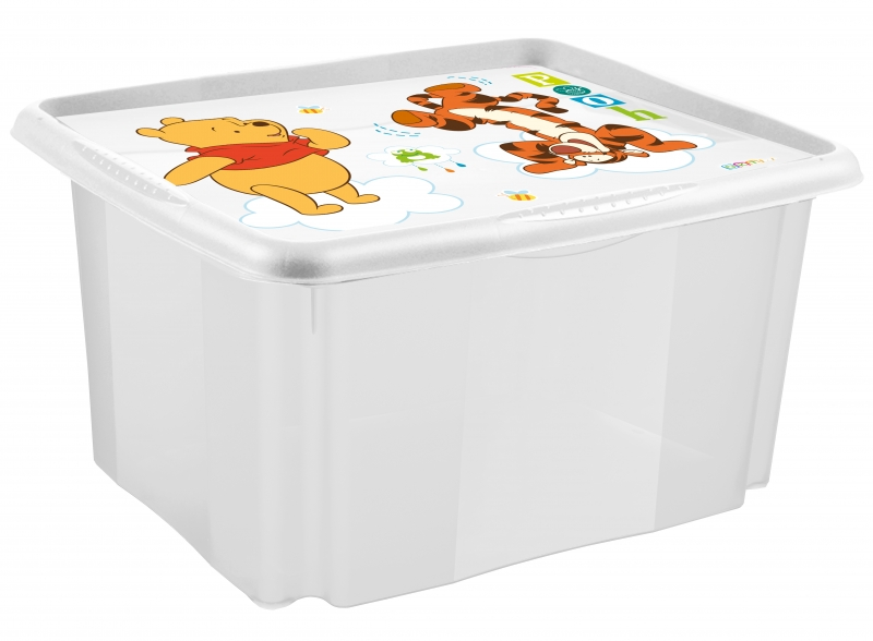 Box na hračky Medvídek PÚ - 45 l