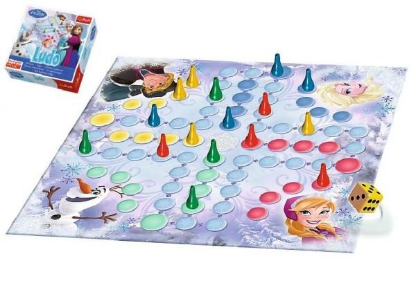 Člověče nezlob se Ledové království/Frozen společenská hra v krabici 28x28x6cm