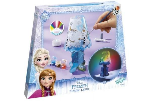 Vytvoř si lampičku s doplňky s baterií Ledové království/Frozen v krabičce 24x20x3cm