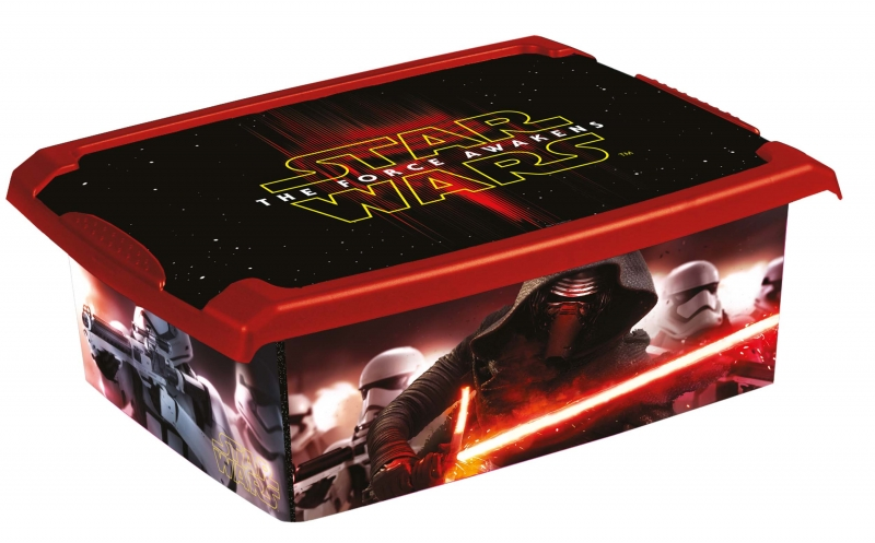 Keeeper Box Star Wars 10 l - černý