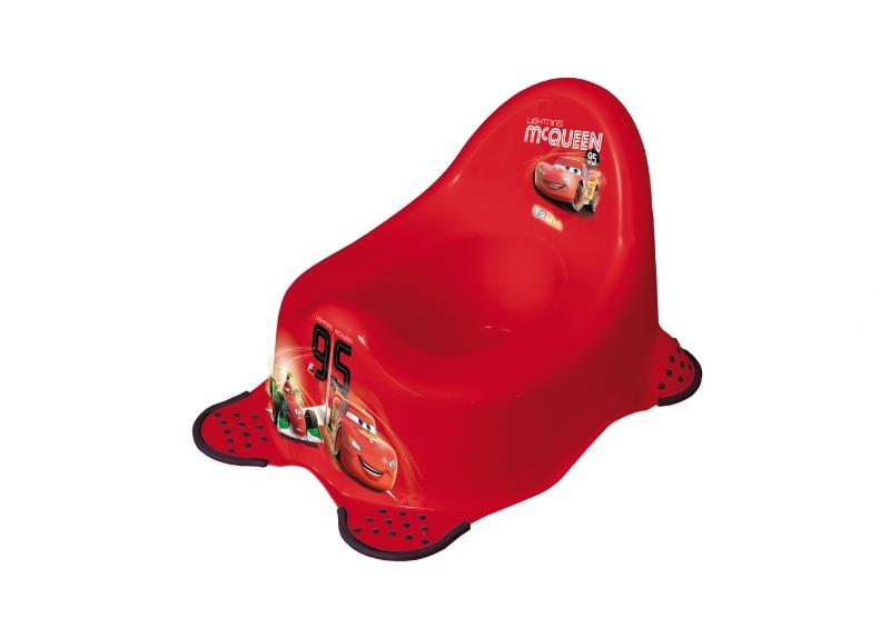 Keeeper Nočník Cars s protiskluzem - červený