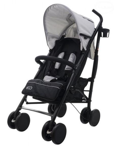 Euro Baby Sportovní kočárek Eco Swiss design - middle grey, K19