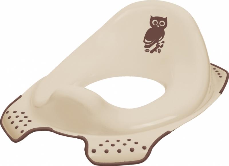 Adaptér - treningové sedátko na toaletu Forest - hnědý (Motivy Forest se mohou lišit)