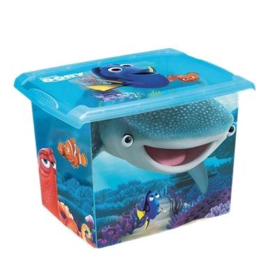 Box na hračky, dekorační Hledá se Dory 20,5 l - modrý