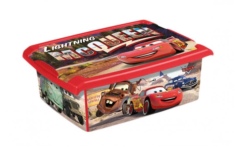 Box Cars 10 l - červený