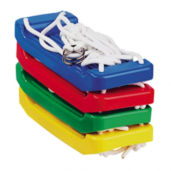 Houpačka/Houpací prkénko plast 43x18cm nosnost 60kg asst 4 barvy v síťce