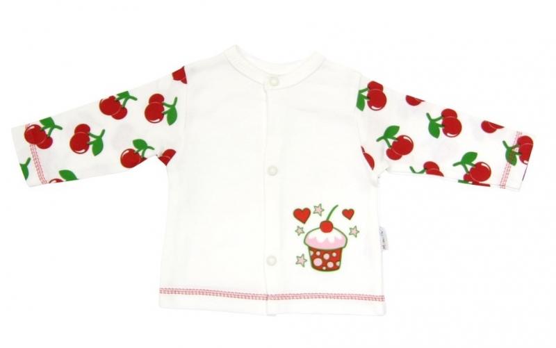 Bavlněná košilka Mamatti - Dort třešnička