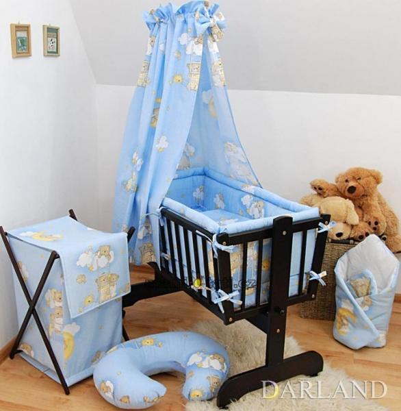 Darland Krásný set do kolébky CL - Žebřík modrý