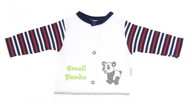 Bavlněná košilka Mamatti - Panda, Velikost: 80 (9-12m)