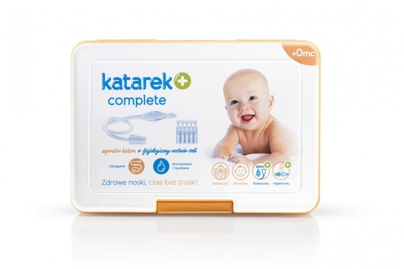 Odsávačka nosních hlenů na vysavač - KATAREK PLUS complete