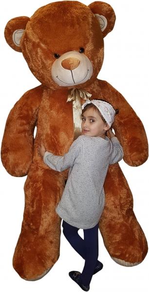 Plyšový Medvěd XXL Baby Nellys 180cm - béžový, K19