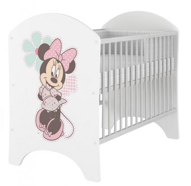 BabyBoo Dětská postýlka Disney s Minnie 120x60cm, D19