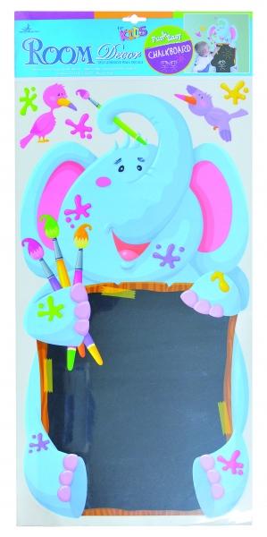 Room Nástěnná dekorace - samolepka s tabuli - slon