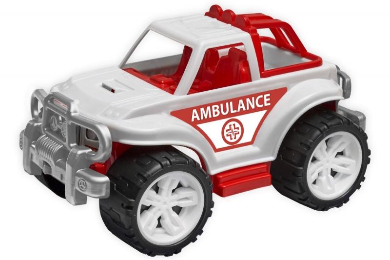 Auto plastové SUV ambulance