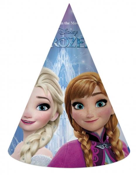 Papírový párty klobouček Frozen - Ledové království 6 ks
