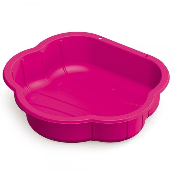 Pískoviště, bazének s krytem - růžové (Barva: Růžová)