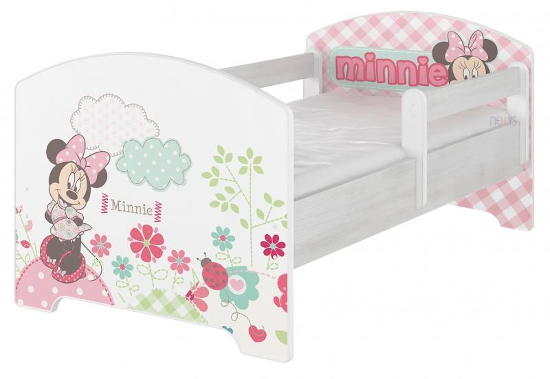 BabyBoo Dětská postel Disney , 160x80 + pěnová matrace zdarma - Minnie, D19