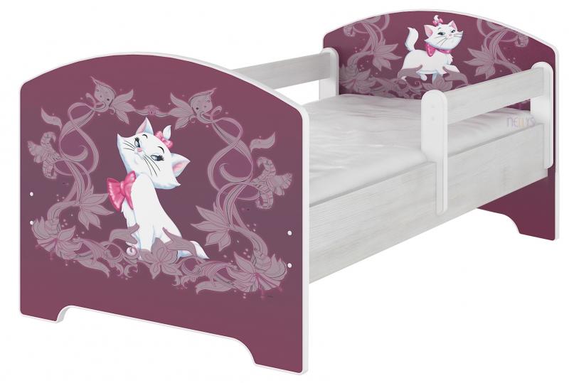 BabyBoo Dětská postel Disney, 160x80 + pěnová matrace zdarma - MARIE, D19