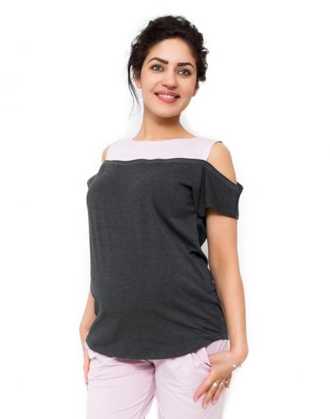 Be MaaMaa Těhotenské triko Kira