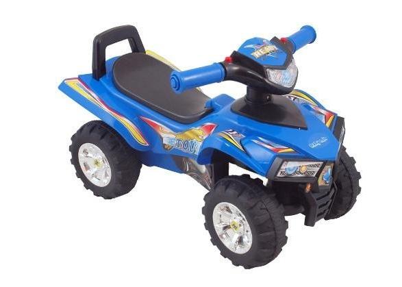 Dětské odrážedlo, čtyřkolka QUAD - modré (UR-HZ551, barva: modrá, 12m+)