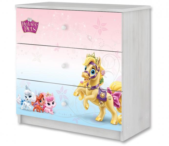 BabyBoo Disney dětská komoda - Palace Pets, D19