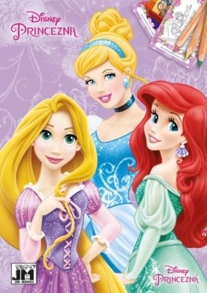 Rappa Omalovánka A5 Disney Princezny