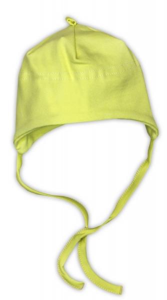 Bavlněná čepička NICOL - zelená, Velikost: 48