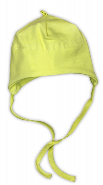 Bavlněná čepička NICOL - zelená, Velikost: 62 (2-3m)