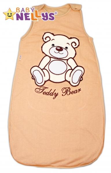 Spací vak Teddy Bear, Baby Nellys - hnědý vel. 2+
