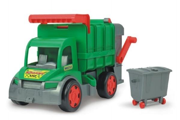 Auto Gigant popelář + kontejner plast 65cm Wader Farmer
