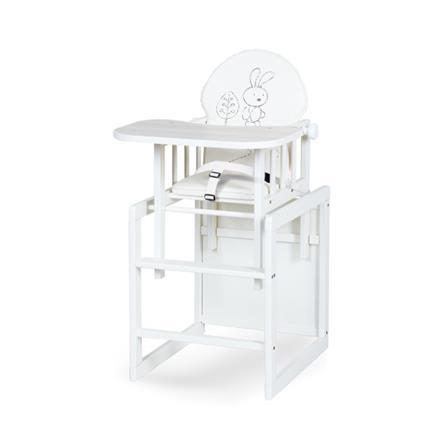 Klups Jídelní židlička Agátka III  - bílá