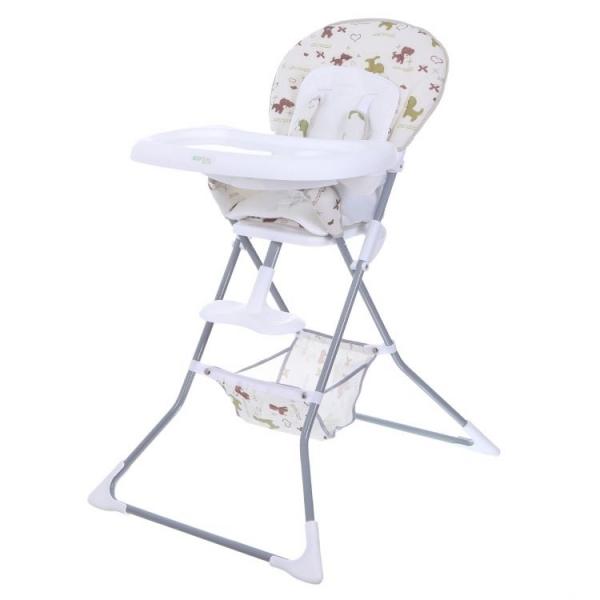 Jídelní židlička ACE ECO TOYS - béžová