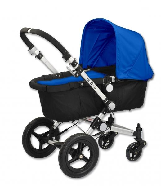 Euro Baby Dětský kočárek BAOBAO Standart - modrý