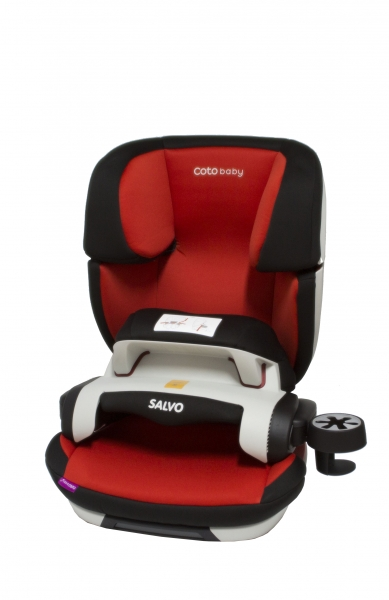 Autosedačka SALVO ISOFIX - skupina 9-36 kg.