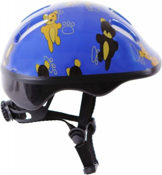 Bezpečnostní dětská přilba - modrá s obrázkem