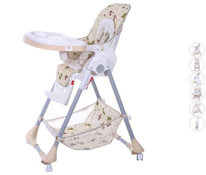 Eco toys Jídelní stoleček - béžový