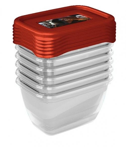 Keeeper Sada plastových krabiček Star Wars  0,25l - 6 ks