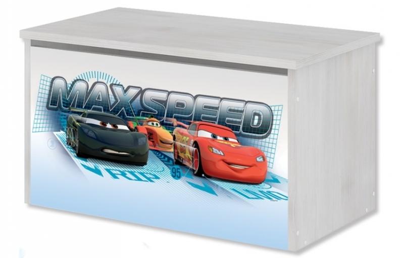BabyBoo Box na hračky, truhla Disney - Cars, D19