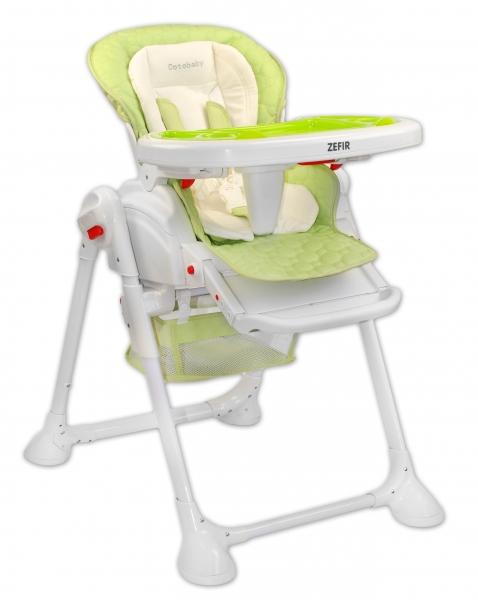 Coto Baby Jídelní židlička a houpačka 2v1 Zefir 2019 - zelená